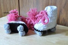 super adorable baby booties for non-walkers