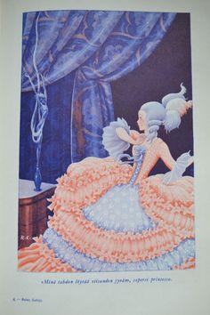 By Rudolf Koivu, Finland Art Nouveau Illustration, Children's Book Illustration, Book Illustrations, Cool Art, Nice Art, Art Boards, Vintage Art, Childrens Books, Fairy Tales