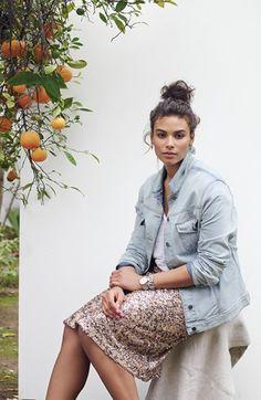 Dantelle Sequin Midi Skirt (Plus Size) | Nordstrom