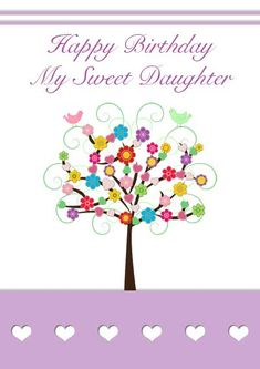 Daughter birthday cards my free printable cards printable printable birthday card for daughter one of my favorites card my free bookmarktalkfo Images