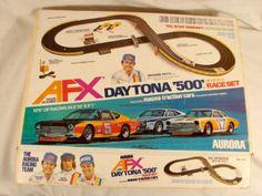 hours of fun Slot Car Racing, Slot Car Tracks, Race Cars, Race Tracks, Aurora, Afx Slot Cars, Slot Car Sets, Daytona 500, Accessories