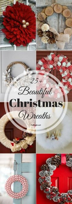 25+ Beautiful Christmas Wreaths | NoBiggie.net