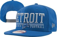 8ef230d65f7 Detroit Lions NFL 9FIFTY Lateral Snapback Hat By New Era