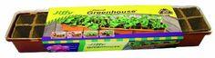 Jiffy 5043 Windowsill Greenhouse 20-Plant Starter Kit With Peat Strips by Jiffy. $9.63. Indoor Gardening. Greenhouse Gardening. Jiffy Windowsill 20 Cell Peat Strip Greenhouse
