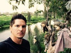Ghost Adventures: Zak Bagans at The Island Of The Dolls, Xochimilco, Mexico.