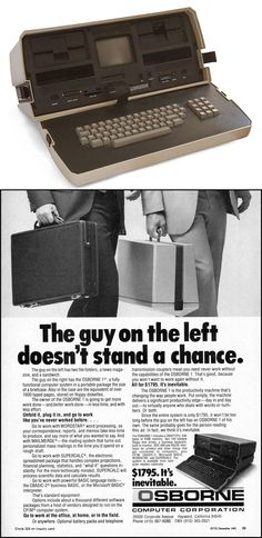 The Osborne 1, the world's first commercially successful portable computer, was released on April 3, 1981.