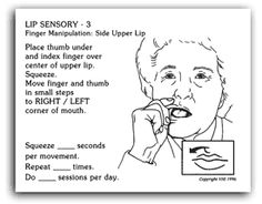 1000 images about oral motor myofunctional therapy on for Beckman oral motor exercises handout