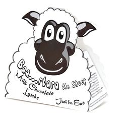 Baa.rbara The Sheep Milk Chocolate Lambs £5.99 FREE UK Delivery.  http://www.ragstorichesuk.com/gifts/confectionery/baa-rbara-the-sheep-milk-chocolate-lambs-detail