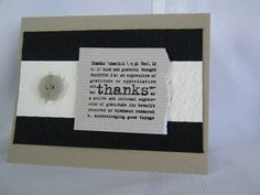 CC412 Thanks by berlycece - Cards and Paper Crafts at Splitcoaststampers