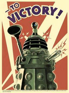 Doctor Who Propaganda Poster