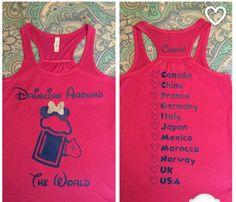 Disney Shirts For Family, Family Shirts, Disney Family, Family Cruise, Cake Smash Outfit Boy, Disney Birthday, 21st Birthday, Disney 2017, Drinking Around The World