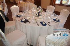 An elegant tablescape at Seven Bridges. http://www.discjockey.org/real-chicago-wedding-sept-3-2016/