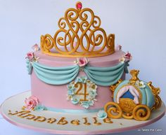 EDITOR'S CHOICE (1/12/2014) Pretty Princess by Jo Takes the Cake View details here: http://cakesdecor.com/cakes/106841