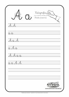 Calligraphy for kids - Letters / Handwriting - Cool Coloring Pages Learn Handwriting, Improve Your Handwriting, Handwriting Analysis, Letter Worksheets, Handwriting Worksheets, Worksheets For Kids, Calligraphy For Kids, Calligraphy Worksheet, Modern Calligraphy
