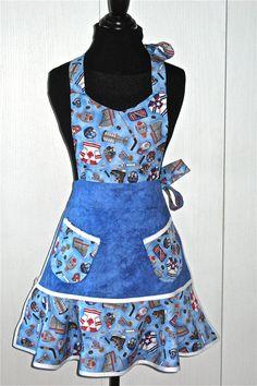 Hockey apron