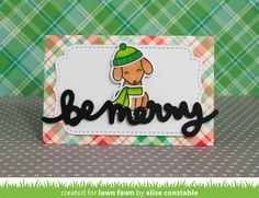 the Lawn Fawn blog: Lawn Fawn Intro: Small Stitched Envelope; Dotted Stackables