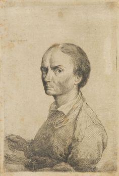 Jan Piotr Norblin de la Gourdaine - Autoportret z paletą, 1778 r.