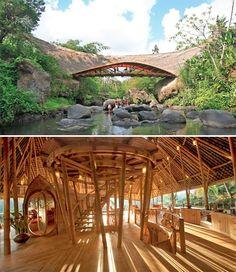 Bamboo Architecture Bali Ikubu