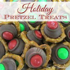 Holiday Pretzel Treats