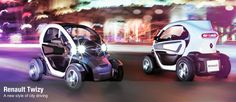 The Renault Twizy Electric Car looks like something out of the movie Tron or maybe Mario will drive it | Steve Spangler Science