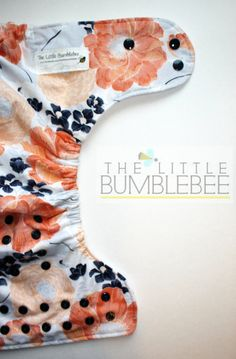 One Size pocket diaper by The Little Bumblebee