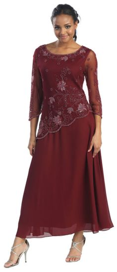 Image detail for - EVENING DRESS MOTHER OF THE MOTHER OF THE GROOM GOWN - US$ 126.64