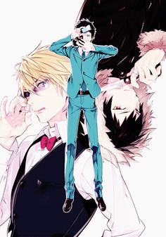 °˖✧◝(ㅎ.ㅎ)♥︎(σノ、σ)◜✧˖°, celty-san: Durarara!!Re;Dollars