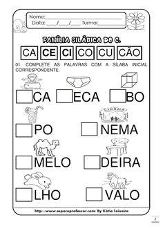 Portuguese Lessons, Fairy Tales For Kids, Preschool Writing, Literacy, Homeschool, Teaching, Education, Maria Emilia, Mousse