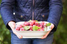 HERNEPENSASKUJANTEEN TAKANA SIINTÄÄ POTAGER: Suuri luumupäivä =) Raspberry, Fruit, Food, The Fruit, Raspberries, Meals, Yemek, Eten
