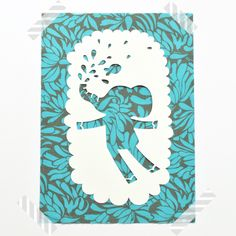 So Fofo - Elephant- Paper Cut Out, $24.00 (http://www.sofofo.com.au/elephant-paper-cut-out/)