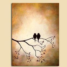 ❤  Love birds.