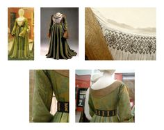 Mary of Hapsburg's Hemd: Chemise Pleatwork and Pattern Darning Notes | | The German Renaissance of Genoveva