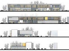 Project shows Ataşehir and maps show Ümraniye - dilan - Architecture University Architecture, Library Architecture, Revit Architecture, Cultural Architecture, Architecture Portfolio, Concept Models Architecture, Architecture Presentation Board, Architecture Details, Atrium Design