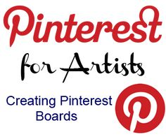 Pinterest boards are essentially albums of images, organized by topic similar to a scrapbook. This article discusses what Pinterest boards are all about, how to create them, and a list of ideas for boards artists can make.