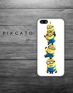 Despicable Me Minions - Iphone Case, Hard Plastic, FREE Shipping Worldwide. $10.99, via Etsy.