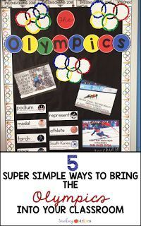 5 Super Simple Ways to Bring the Olympics Into Your Classroom - Teaching in Stripes