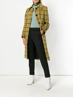 Yellow Plaid for Fall