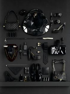 accessories still life - luke kirwan black editorial
