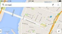 """Para usar o Google Maps offline, digite """"OK Maps"""" e a área visível será salva para acessos futuros."""