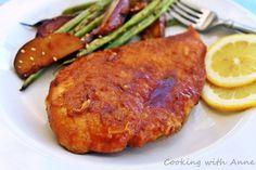 ... | Japanese Ginger Sauce, Baked Orange Chicken and Flank Steak