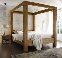 Lit Baldaquin En Bois Ou Fer Pour Une Atmosphère Romantique Móveis - Lit baldaquin romantique bois