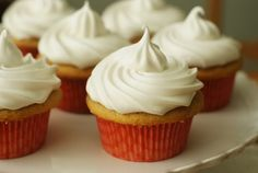 Bake at 350: Hazelnut Cappuccino Cupcakes (aka Where I Fall in Love with 7-Minute Frosting)