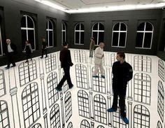 Illusion Art by Regina Silveira