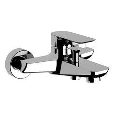 Edel, klar und geradlinig ist das Design der Serie Zera von DIBL, auch bei dieser Wannenarmatur mit zusätzlich variabel einstellbarer Mengenbegrenzung und Temperaturbegrenzung.