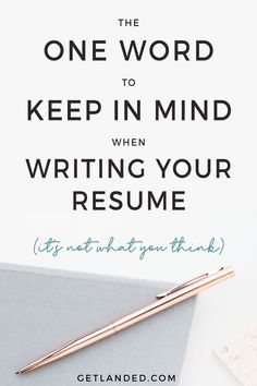 Writing a resume is EASY if you know what employers are looking for. Find out what the employer cares about so you can transform your resume and become the perfect candidate for the job! Job search tips from Get Landed. Resume Advice, Resume Work, Resume Writing Tips, Resume Skills, Job Career, Career Advice, Career Exploration, Job Search Tips