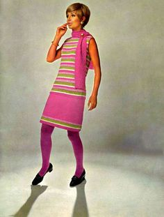 Bucilla Knit Fashions 1969