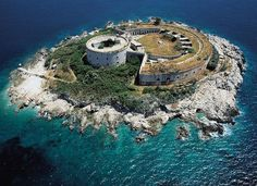 The Mamula island-it is located in the entry of the Kotor-bay with a fantastic fortress what was built in the time of Austrian-Hungarian Monarchi. http://www.casper-travel.com/en/a-whole-day-boat-trip-zanjice-blue-cave-mamula
