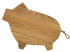 Pig Cutting Board from Tabletop DC, a great shop in Dupont Circle for clever, unique gifts and house wares