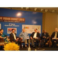 ISAS gives the outlook on Indian Budget 2013 held at the Grand Hyatt Hotel Singapore on March 8th...