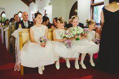 The flowergirls - so cute!!